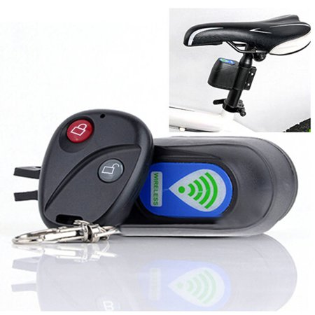 Wireless Alarm Lock Bicycle Bike Security System With Remote Control