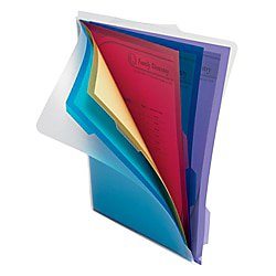 Project Folder Letter - Office Depot 5-Folder Poly Project Organizer, Letter Size, Assorted Colors (No Color Choice), 9109