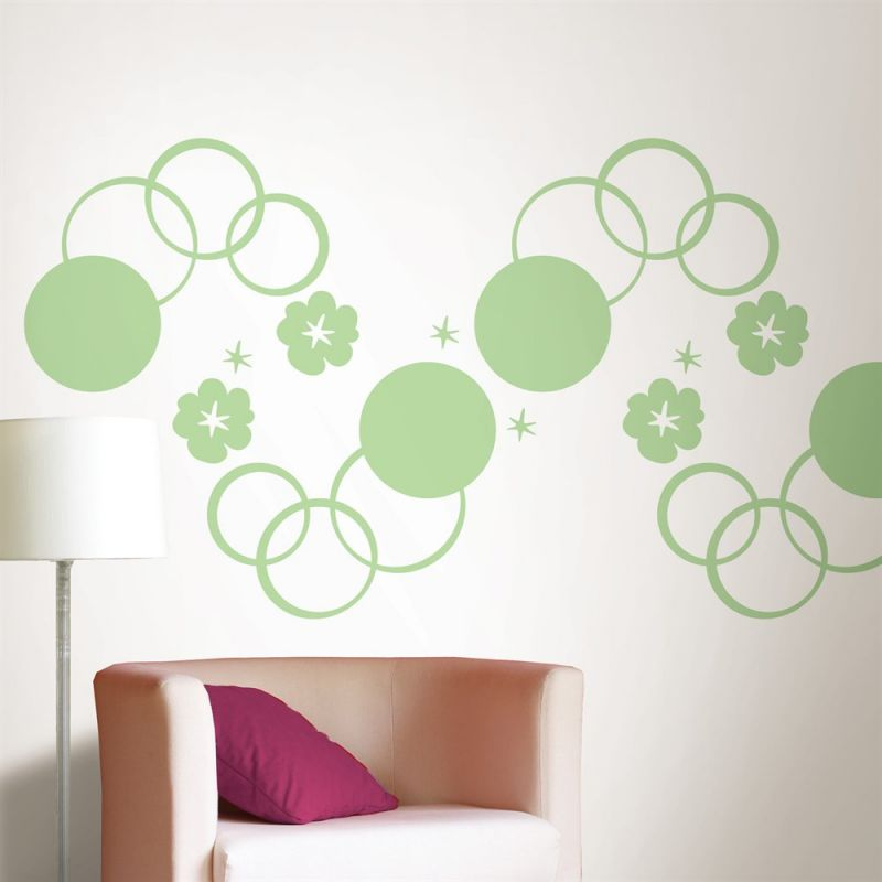 Brewster Home Fashions WallPops Dots Blox Stripes Wall Decal