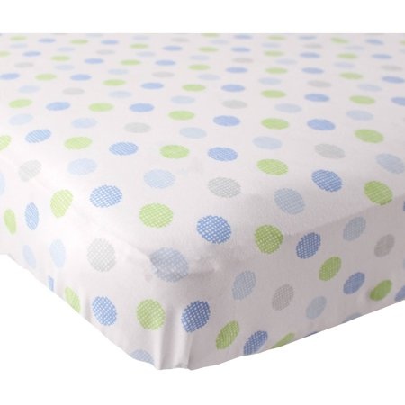 Luvable Friends Baby Boys And Girls Fitted Crib Sheet  28X52 Inches  Choose Your Color