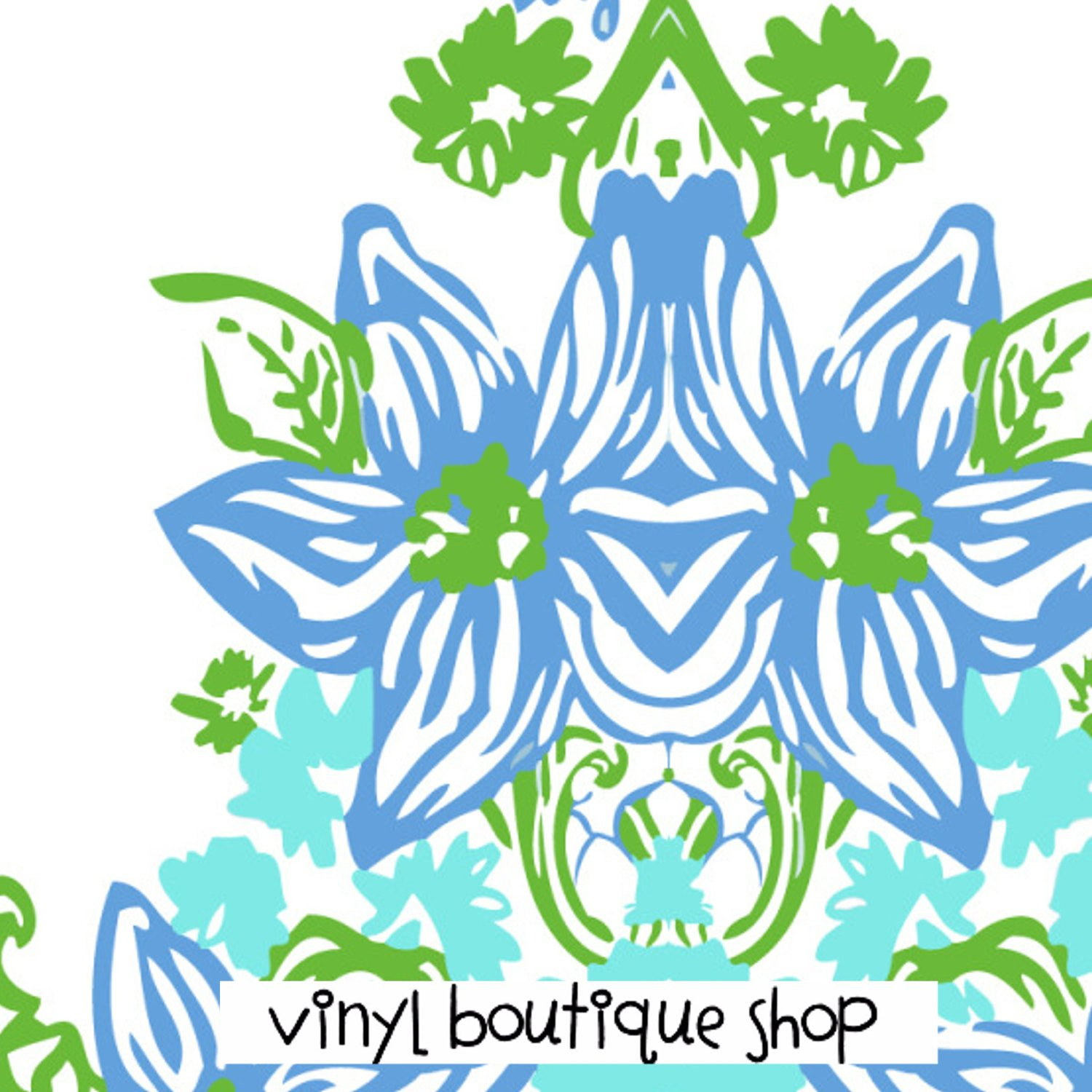 Virgo Lilly Inspired Printed Patterned Craft Vinyl