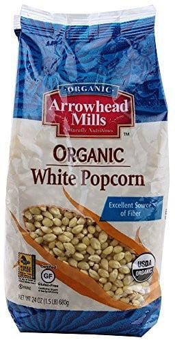 Arrowhead Mills Organic White Popcorn, 24 Oz by Hain Celestial