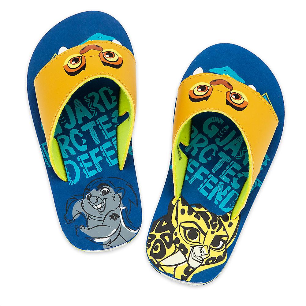 Disney Store Boys Kion - Lion Guard - Flip Flops