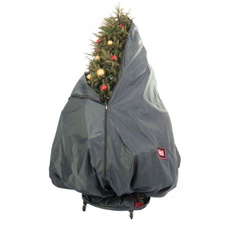 TreeKeeper Decorated Tree Storage Bag with Rolling Stand (Treestand Side Bags)