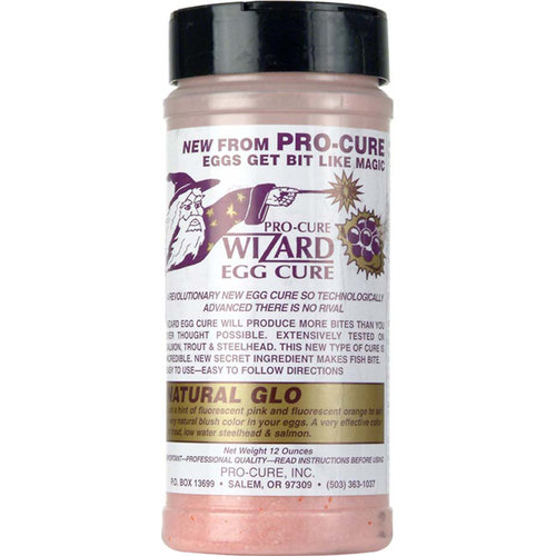 Pro-Cure Wizard Egg Cure, Natural Glo