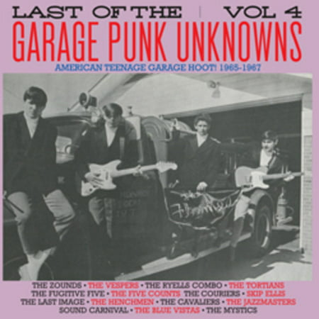 Last of the Garage Punk Unknowns 4 (Vinyl)