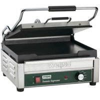 WARING COMMERCIAL WFG250 Flat Plates Toasting Grill, 120V, 1800 Watts