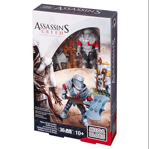 Assassin's Creed Mega Bloks Construction Set: Heavy Borgia Soldier by Mega Brands America, Inc.