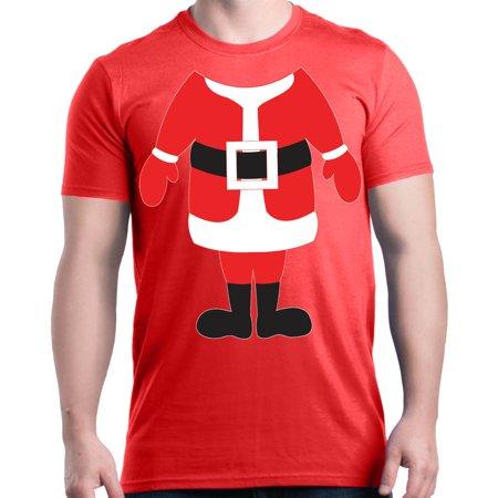 Body Graphic Kit - Shop4Ever Men's Santa Body Costume Christmas Merry Xmas Graphic T-shirt