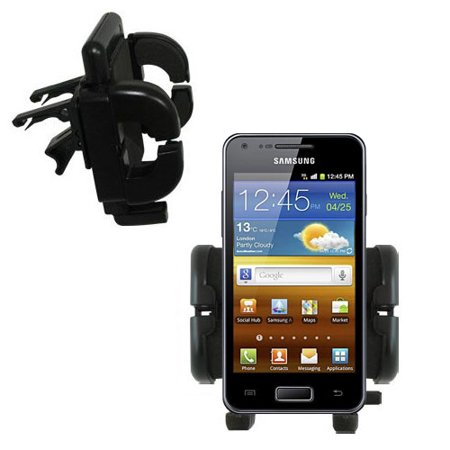 Gomadic Air Vent Clip Based Cradle Holder Car   Auto Mount Suitable For The Samsung Galaxy S Advance   Lifetime Warranty