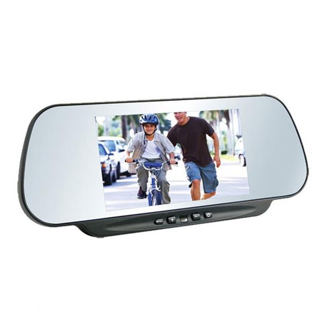 Boyo VTM600M 6 inch Rear View Mirror Clip On TFT LCD Monitor