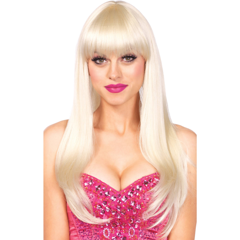 Leg Avenue Women's Long Wig, Blond, One Size