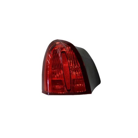 Replacement Driver Side Tail Light For 98 02 Lincoln Town Car