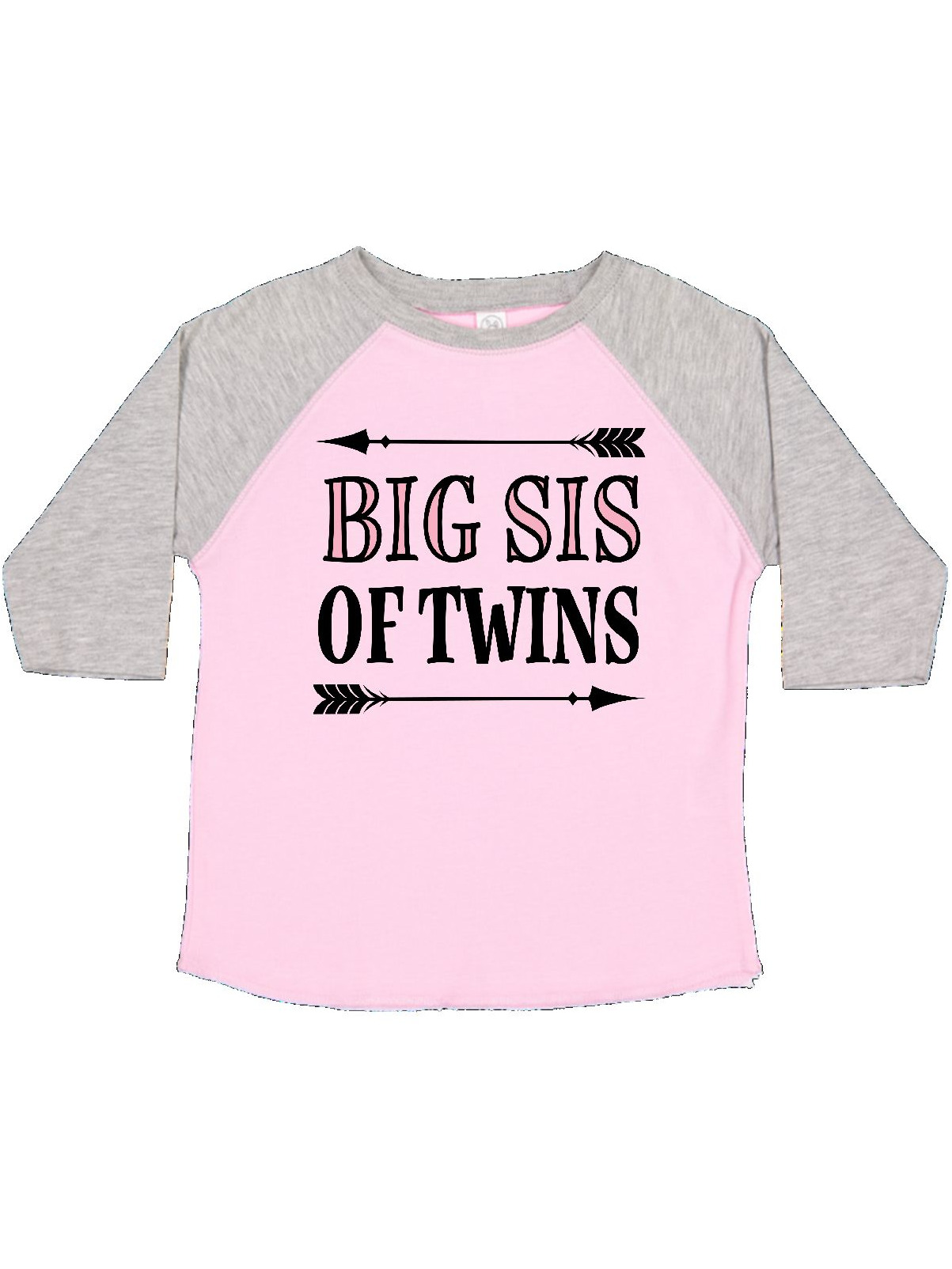 inktastic Big Sis of Twins Toddler T-Shirt
