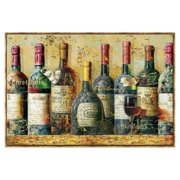 Cape Craftsmen Wine Collection I by NBL Studio Framed Graphic Art on Canvas