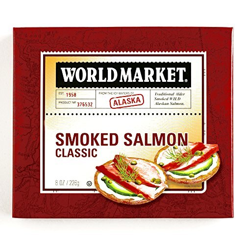 Classic Smoked Alaskan Salmon 8 oz each (4 Items Per Order) by