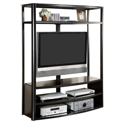 Venetian Worldwide Faron Black TV/Entertainment Center for TVs up to 60""