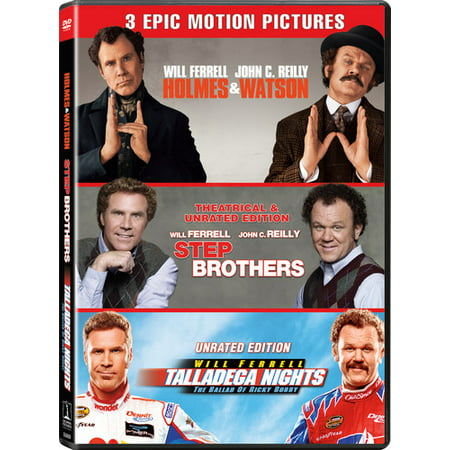 Will Ferrell/John C. Reilly Triple Feature (DVD + Digital Copy) (Will Ferrell Cheerleader)