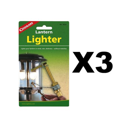 503A Lantern Lighter, Lights your lantern in wind, rain, darkness - without matches By