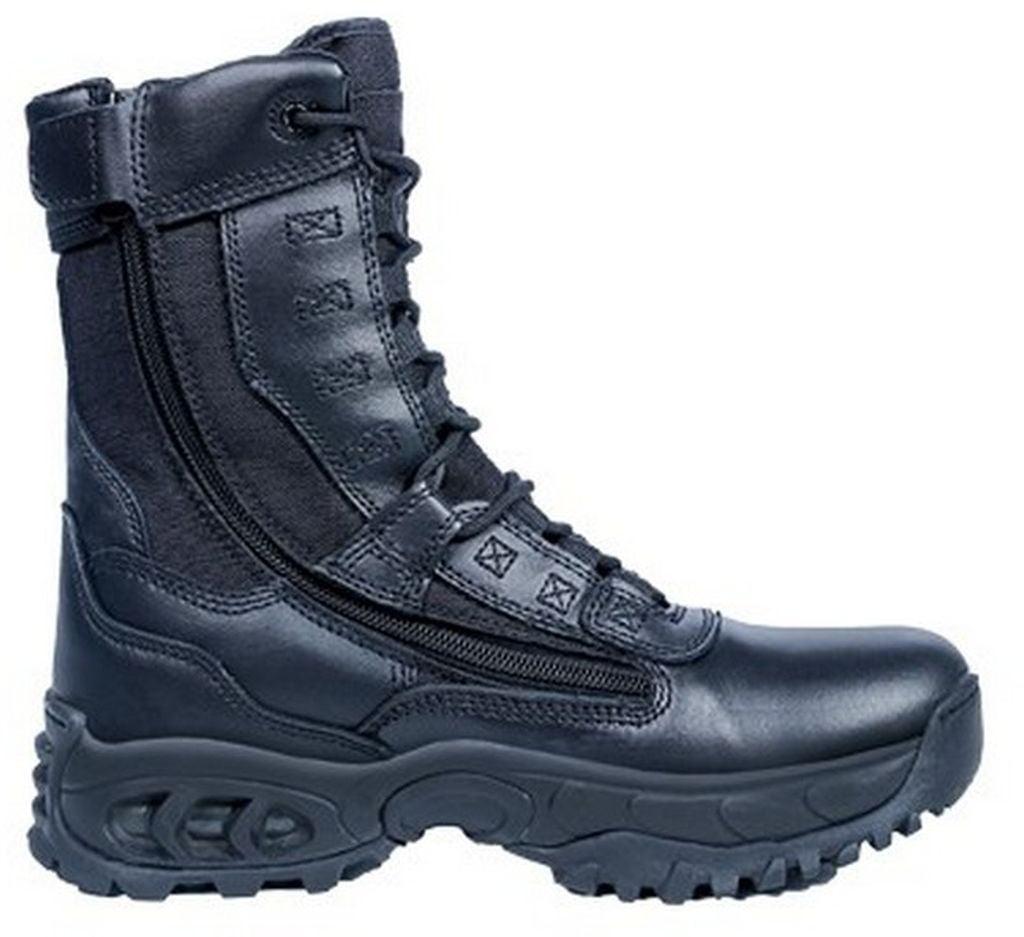 ridge tactical boots mens ghost 8 quot shaft steel toe black