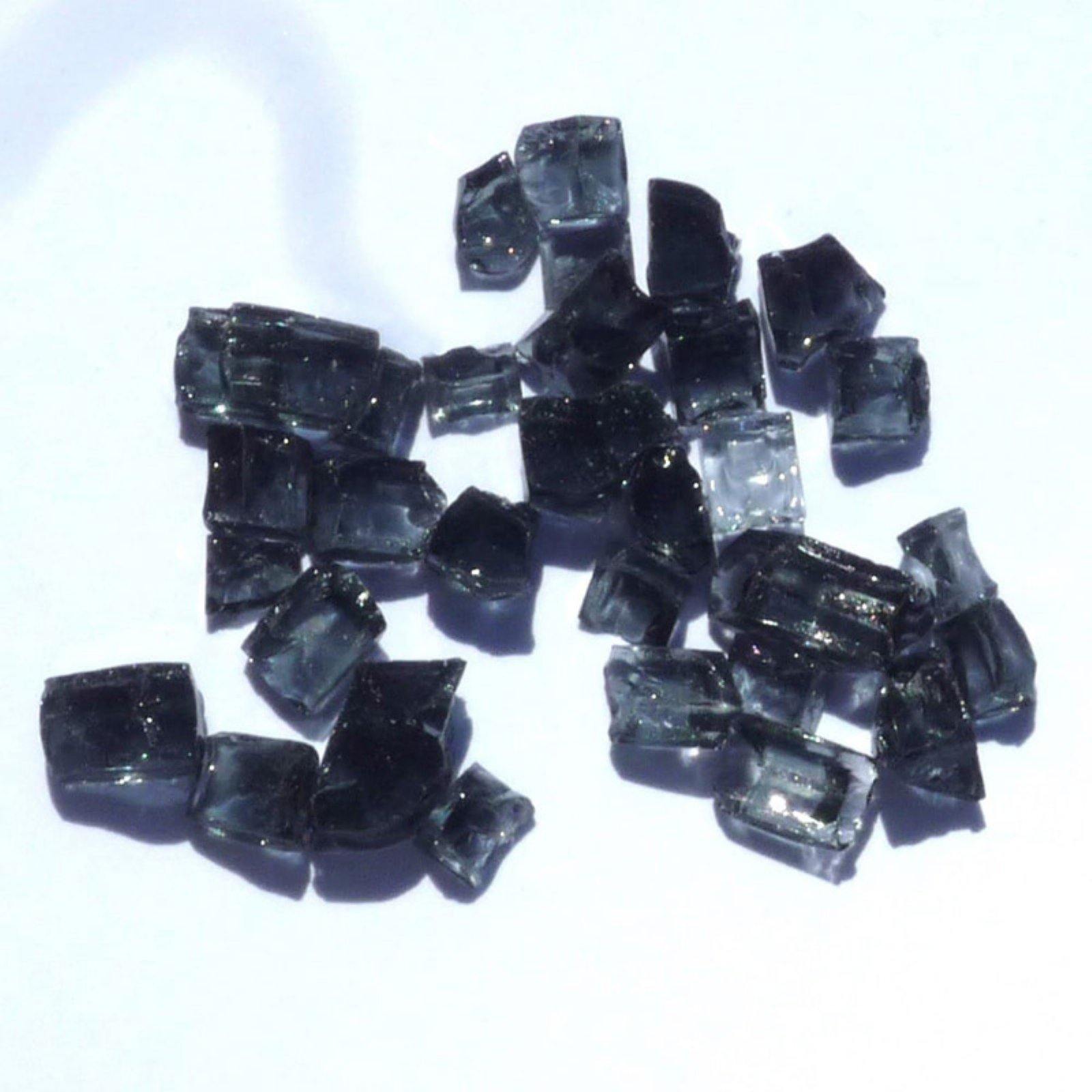 Tretco Black Fire Glass Crystals