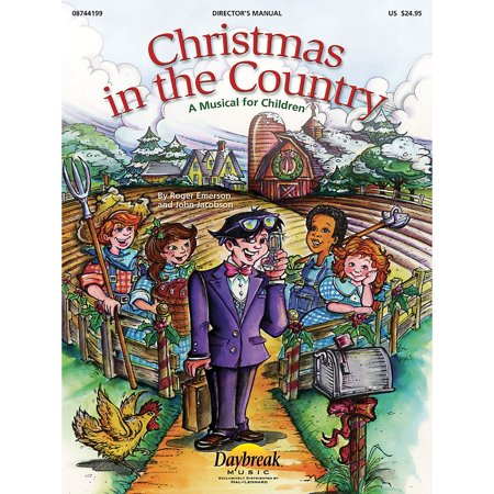 Daybreak Music Christmas in the Country CHOIRTRAX CD Composed by Roger Emerson ()