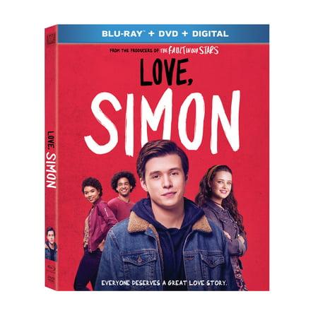 Love, Simon (Blu-ray + DVD + Digital) (Simon Baker Dvd)