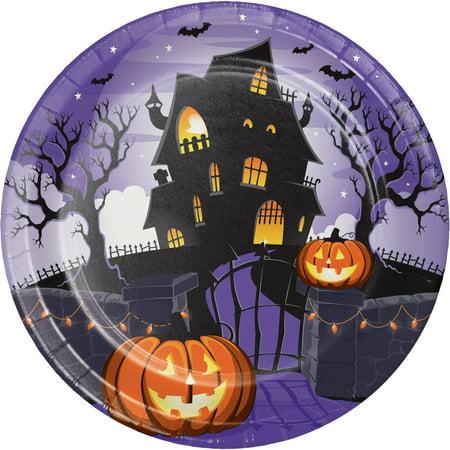 Haunted House Pumpkin Halloween 8 Ct 9
