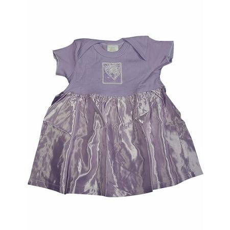 Little Giraffe Baby Newborn Girls Sleeveless Cotton & Satin Dress, 4052 LILAC / 12Months - Next Giraffe Dress