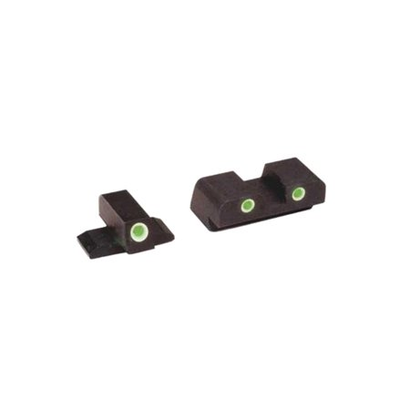Classic Tritium 3-Dot Sig Sauer Sight Set for Most Models Using #8 Height, Green, Fast shipping,Brand (Sig Sauer P226 Night Sights For Sale)