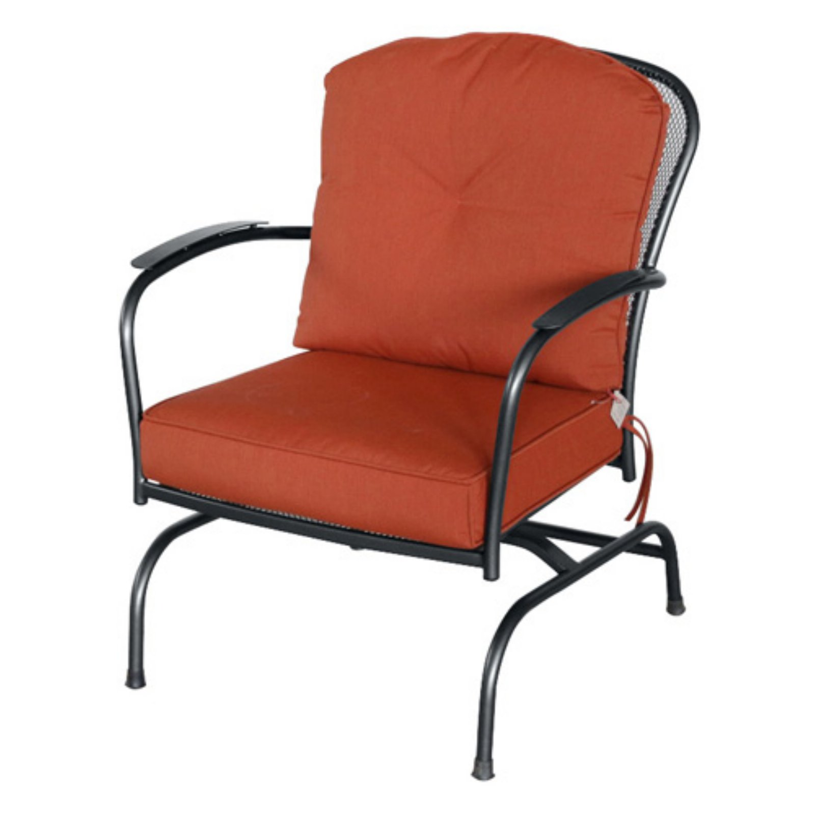 Royal Garden Monata Steel Outdoor Action Chair - Set of 2 - Black