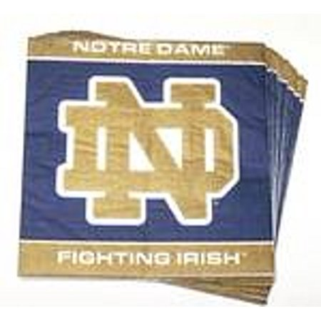 Notre Dame Fighting Irish Lunch Napkins - Notre Dame Party Supplies
