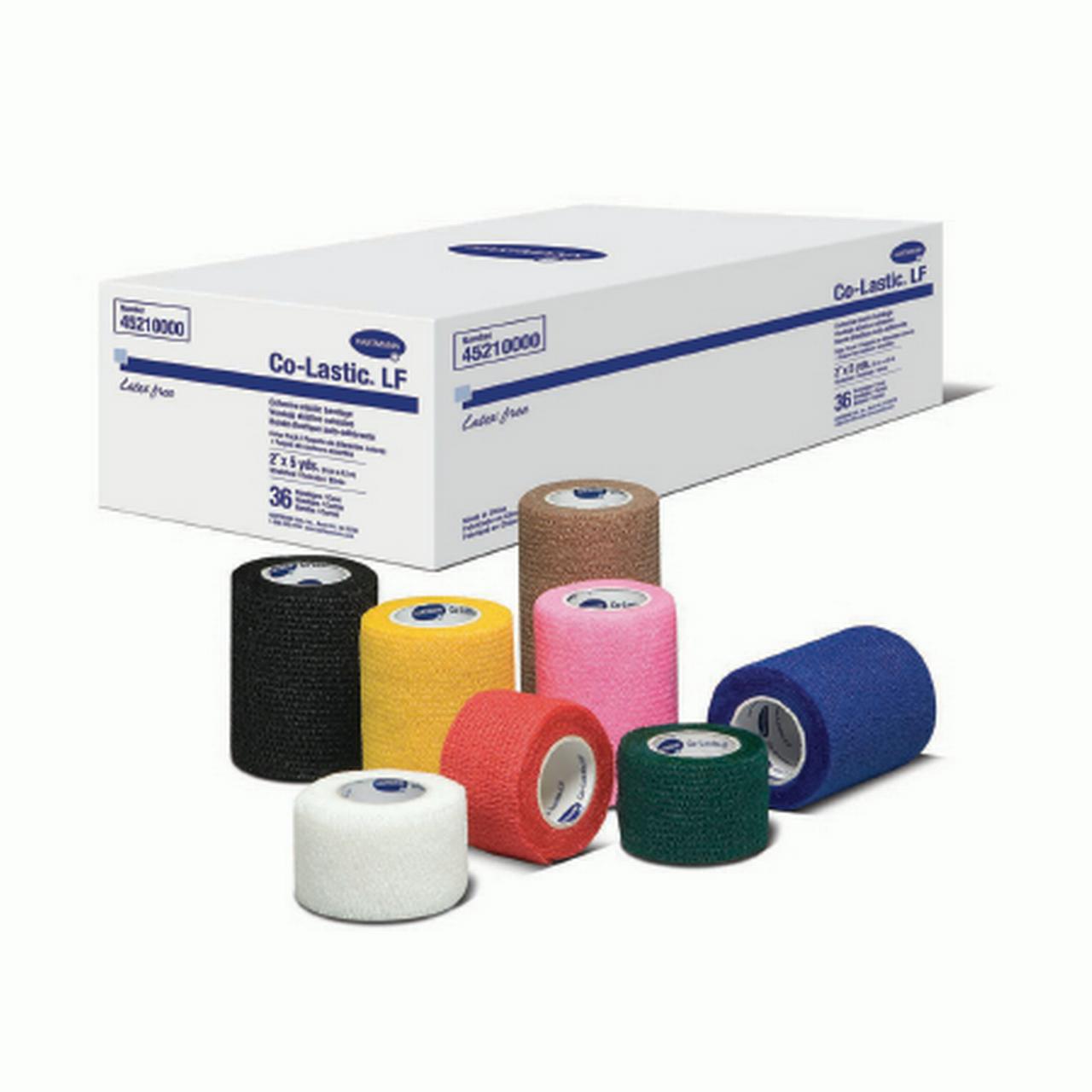Compression Bandage CoLastic Fabric 4 Inch X 5 Yard (1/EA)