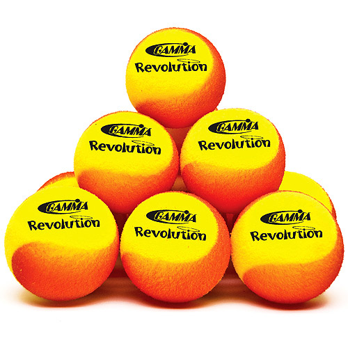 GAMMA Revolution Foam Pickleball Practice Ball - 12 Pack