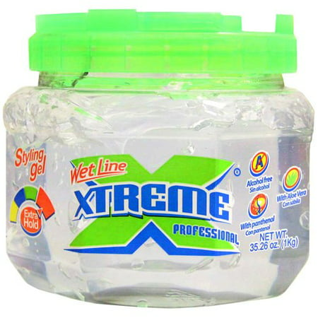 (2 Pack) Wet Line Xtreme Professional Extra Hold Styling Gel, 35.26