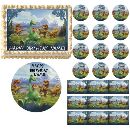 Dinosaur Cakes Ideas (The Good Dinosaur Edible Cake Topper Image Frosting Sheet Dinosaur)