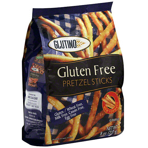Glutino Pretzel Sticks, 8 oz (Pack of 12)