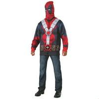 Deadpool 2 Mens Classic Deadpool Hoodie Halloween Costume