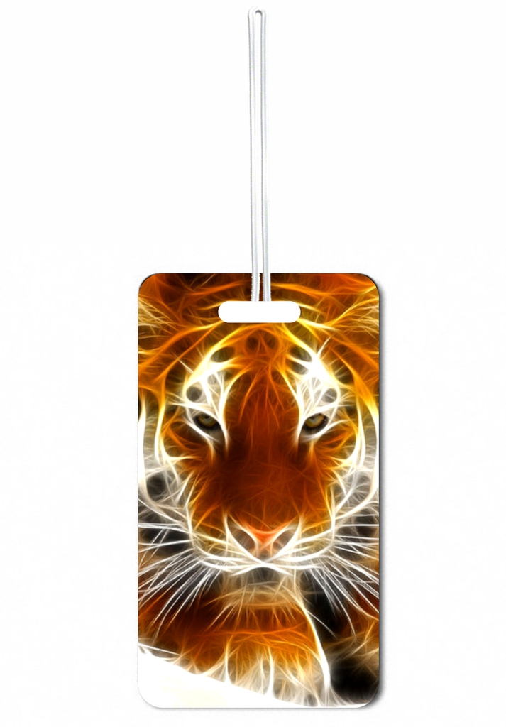 Jacks Outlet Fractal Tiger Gym Bag