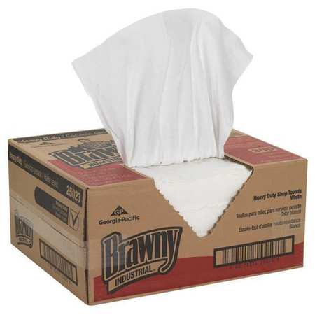 """H700 Disposable Cleaning Towel, 13"""" x 15"""", White, 300 Wipes/Box"""