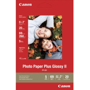 Canon Photo Paper Plus Glossy II 5X7