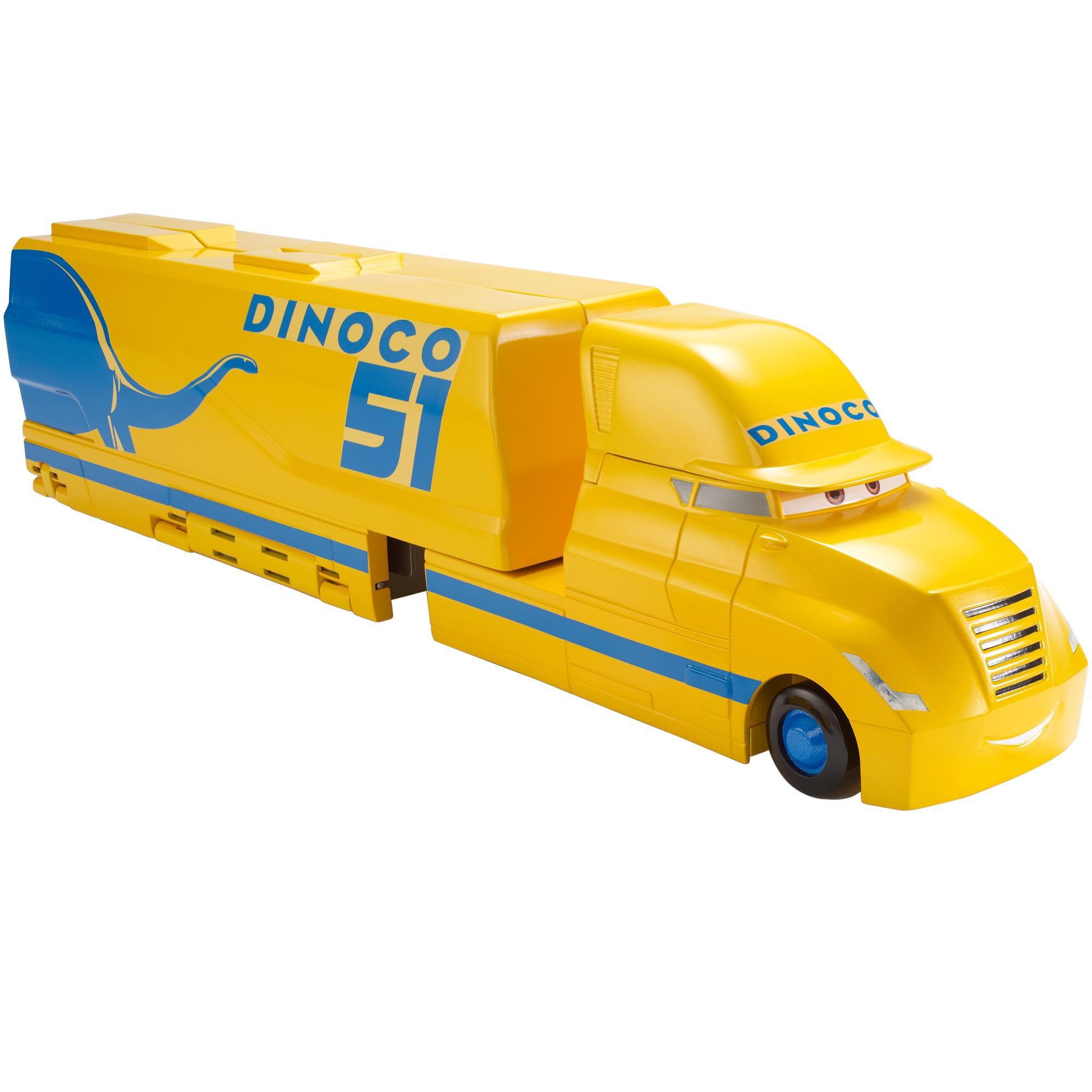 Disney Pixar Cars 3 Cruz Ramirez S Dinoco Hauler Set Walmart