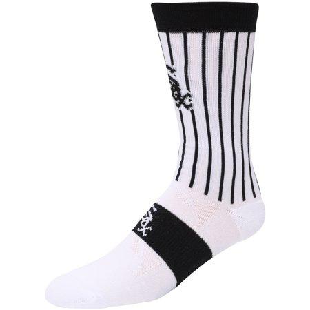 Chicago White Sox Uniform Crew Socks - White - L