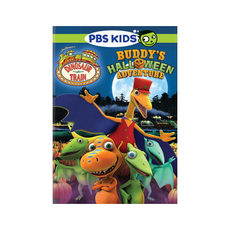 Dinosaur Train: Buddy's Halloween Adventure (DVD) - Childrens Halloween Tv Shows 2017