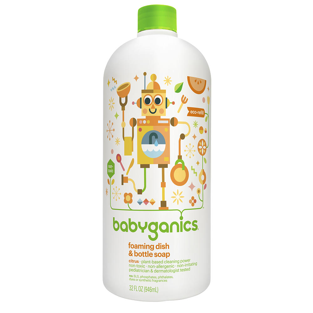 babyganics dish soap walmart