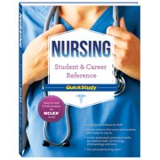 BarCharts 9781423220459 Nursing Student & Career Reference Quickstudy Quickstudy Easel