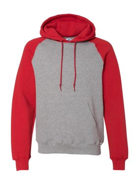 Fleece Dri Power® Colorblock Raglan Hooded Pullover Sweatshirt