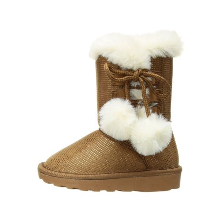 Becky Quick Boots (Rampage Girls Lil Becky Ankle Pull On Snow)