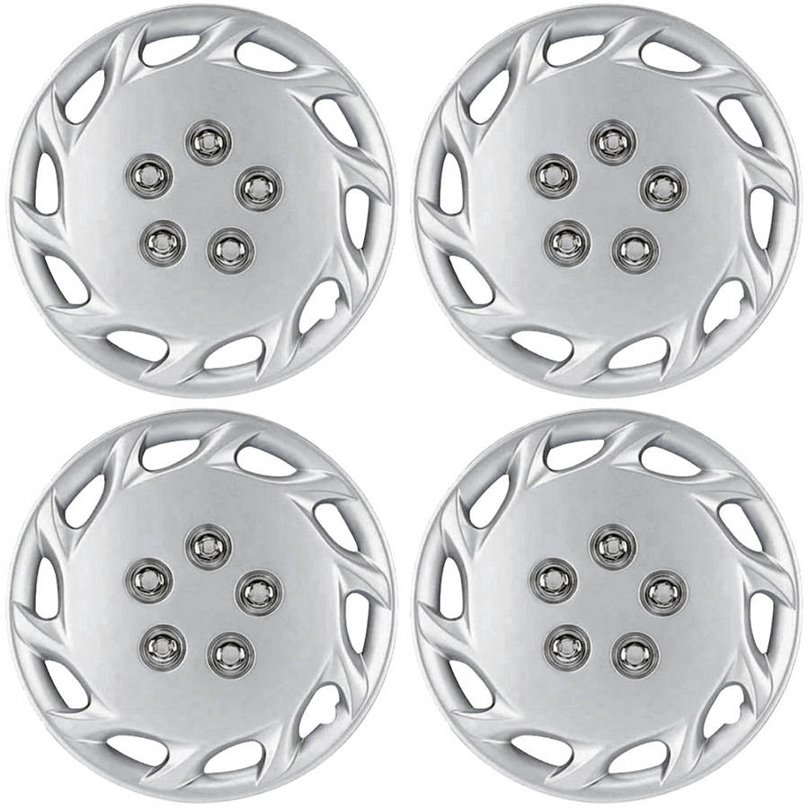 """4 Piece Set A/M Silver ABS Fits 1997 1998 1999 TOYOTA CAMRY 14"""" Wheel Hub Caps"""