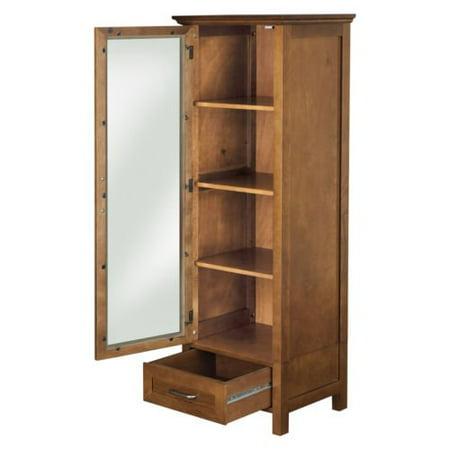 Chamberlain Linen Tower Storage Cabinet (Tower Linen Cabinet)